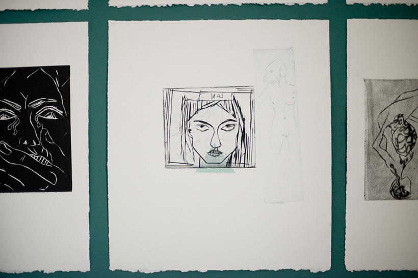 """Lavee illustratrice - Nunca Mas"""" ('Never Again')"""